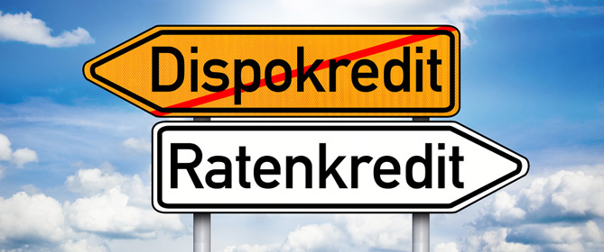 Dispokredit in Ratenkredit umschulden