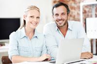 Paar hat Girokonto ohne Kontoführungsgebühren