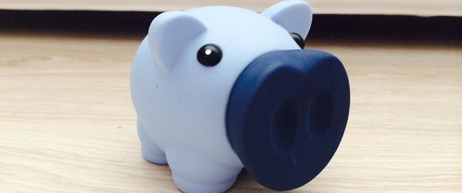 Sparschwein für Taschengeld